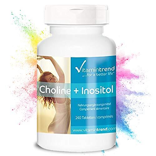 Colina e Inositolo - 240 compresse - Per 8 mesi - Vegan