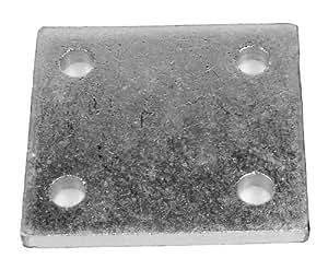 Maypole 231 Plaque de montage en zinc pour réglage de la hauteur de la rotule 7,6 cm