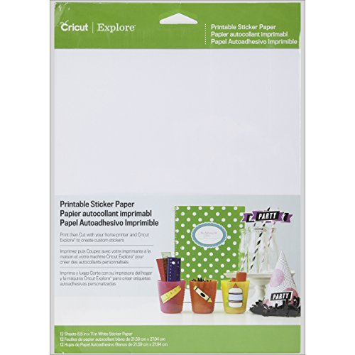 Cricut Crafting Tools - Printable Sticker Paper for Scrapbooking