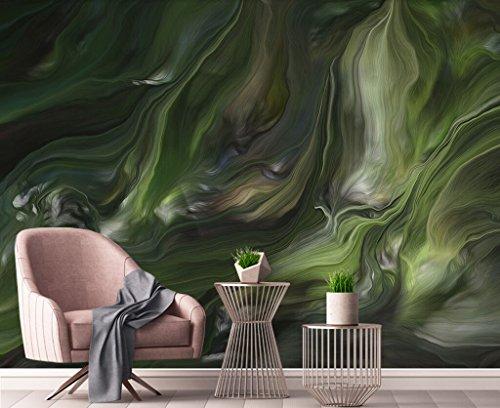 Fototapete 3D Effekt Tapete Chinesische Abstrakte Gestrafften Schlange Vliestapete 3D Wallpaper Moderne Wanddeko Wandbilder