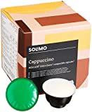 Amazon Brand Solimo Dolce Gusto* Compatible Cappuccino pods- UTZ certified- 96 pods (6 x 16)
