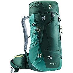 Deuter Rucksack Futura Pro, Forest-Alpinegreen, 70 x 28 x 24 cm, 36 L, 3401118-2235