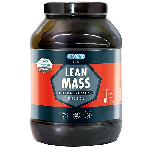 Lean Shake (Big Zone Lean Mass (2200g) (Vanilla Shake))