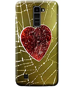 Fashionury™ back cover (Designer printed cover) For LG K10