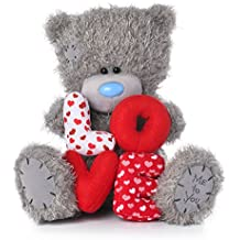 Me To You Love - Oso de Peluche con Letras