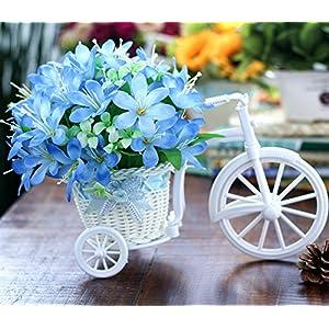 LLPXCC Flores artificiales Creativo casa floral mesa salón sencillo moderno europeo flores decorativas flores de…