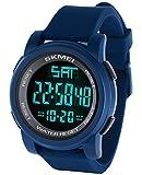Vemupohal Unisex Kinder Digital Elektronische Uhr mit Silikon 1257