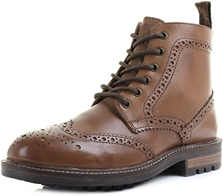 Shoestore - Botas para hombre marrón/canela