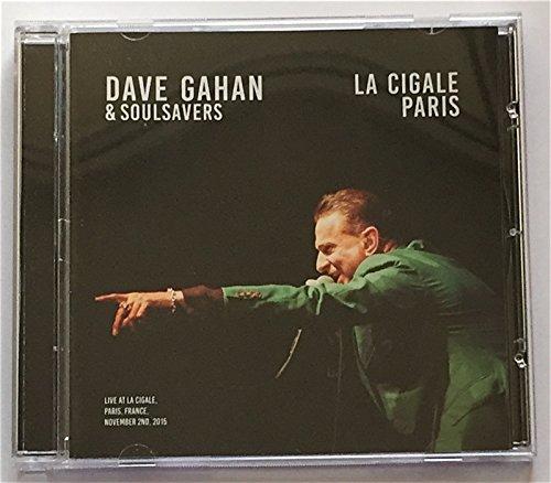 DAVE GAHAN AND SOULSAVERS Live in Paris LA CIGALE CD depeche mode voice [Audio CD] (Live In Mode Paris Depeche)