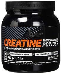 Olimp Creatine Monohydrat Powder , 1er Pack (1 x 550 g Dose)