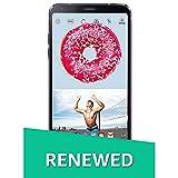 (Renewed) LG G6 LGH870DS (Astro Black, 64GB)