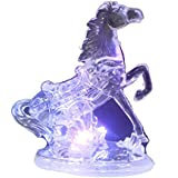 Shalibhadra Plastic LED Horse Multi Color LED Light Showpiece For Home / Office For Home Decoration | Table Showpiece | Office Decoration | LED Showpiece