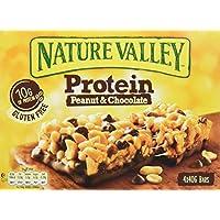 Nature Valley - Barritas de proteinas - Peanut&Chocolate - Caja de 4 unidades