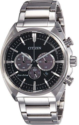 Citizen Herren-Armbanduhr Chronograph Quarz Edelstahl CA4280-53E