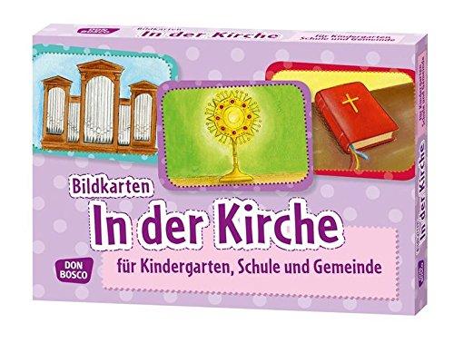 Bildkarten In der Kirche Für Kindergarten, Schule und Gemeinde (Bildkarten für Kindergarten, Schule und Gemeinde)