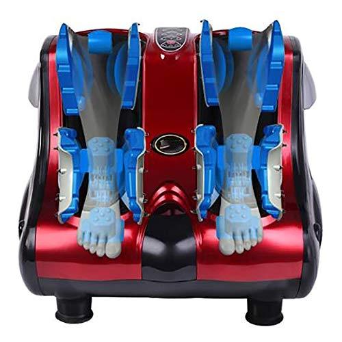 XHH GWJ-220V Fuss Massagegerät Shiatsu Fussmassage Gerät elektrischeTiefknetende Massageköpfen, Hitzefunktion, Bedienung via Touch Therapie Fußmassager für Zuhause und Büro Entspannung