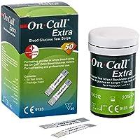 Swiss Point Of Care On Call Extra | Blutzucker Teststreifen für das On Call Extra Blutzuckermessgerät (50 Stück... preisvergleich bei billige-tabletten.eu