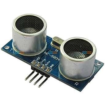 Generic KG042 HC-SR04 Ultrasonic Module Distance Measuring Transducer Sensor DC 5V for Arduino, ARM and Other MCU KG042