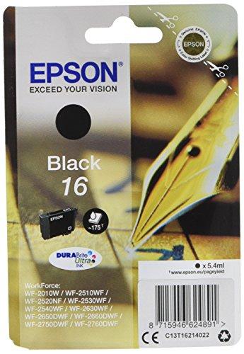 Epson C13T16214022 Inchiostro, Nero
