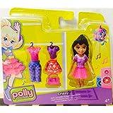 Polly Pocket Crissy muñeca con ropa y bolso