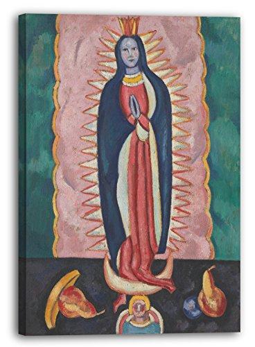 Printed Paintings Impresión Sobre Lienzo (60x80cm): Marsden Hartley - La Virgen de Guadalupe
