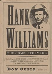 Hank Williams: The Complete Lyrics by Hank Williams (1993-01-01)