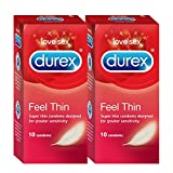 Durex Feel Thin Condoms (20 Condoms)