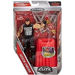 WWE serie Elite 47 Action Figure - Kevin Owens W/ Rosso Universale Campionato Cintura