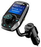 Best Fm Transmitters - Upgraded Ver. FM Transmitter, VicTsing Bluetooth Car MP3 Review