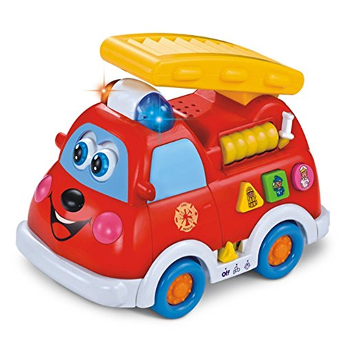 Camión de bomberos intelectual para niños de 1 año/...