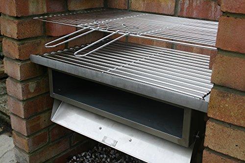 Stainless Steel Bricks : Stainless steel brick bbq kit oven attachment garden