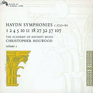 Haydn-Symphonies Vol.I-Hogwood