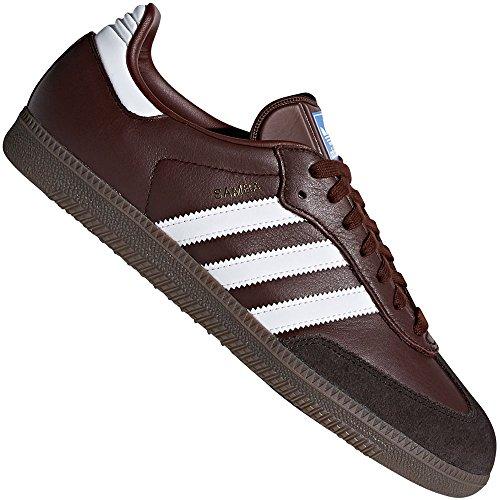 adidas Herren Samba OG Gymnastikschuhe, Braun (Mystery Brown S17/Core Black/Night Brown), 46 2/3 EU (Adidas-klassische Turnschuhe)