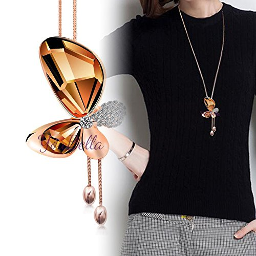YouBella Fashion Jewellery Stylish Pendants for Girls with Long Chain Pendent Party...