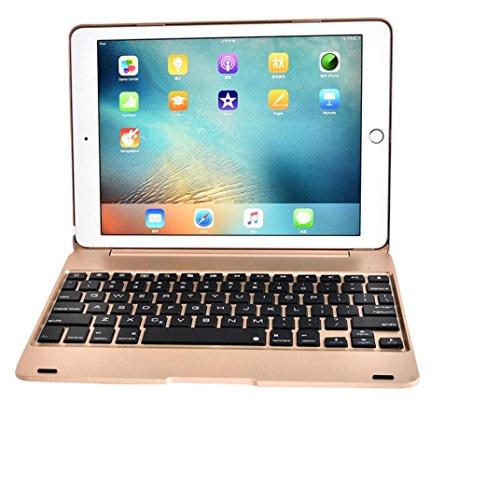Preisvergleich Produktbild Kaiki Wireless Bluetooth Tastatur Folio Tasche für IPad Pro 9.7inch / Air 2