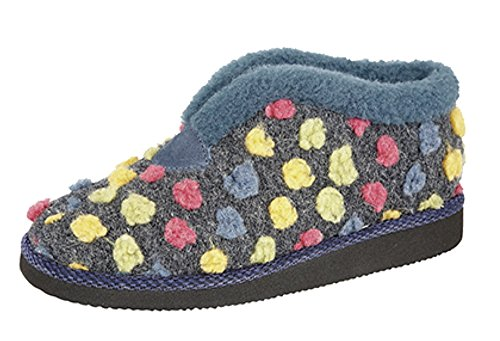 Sleepers , Chaussons pour femme Bleu - Azul - azul/multicolor