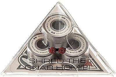 Oldboy Premium Ceramic - Keramik-Kugellager für Longboard & Skateboard - unzerstörbar - schnelleres & geschmeidigeres Fahren