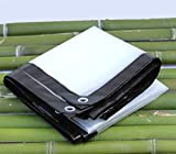 FF tarpaulin Zeltplanen Plane, Sonnenschutzplane Plane Isolierung Wasserdichte Sonnenschutz Plane Bodenbelag, Eine Vielzahl von Größen. (Größe : 5 * 5m)