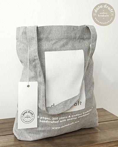Fashion Tote (data draft® Tote Bag | 100% Recycled | Jutebeutel | limitierte Auflage | Einkaufstasche)