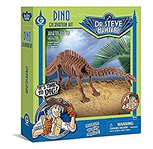 Geoworld - Apatosaurus Skeleton, Figura  (DeQUBE Trading S.L. CL1673K)