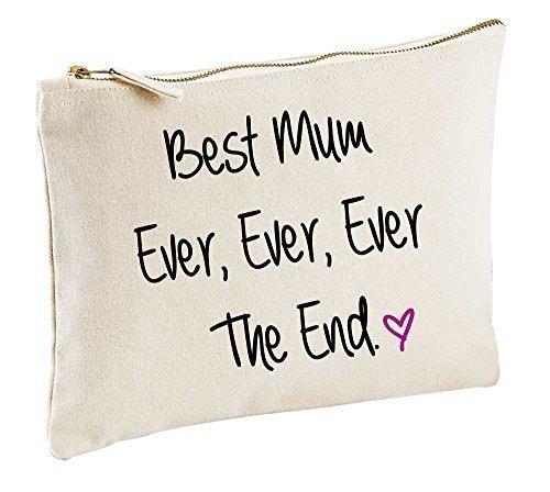 meilleur maman Jamais Jamais Jamais The End naturel Trousse de Maquillage cadeau idée produits cosmétiques Sac articles de toilette fête des mères