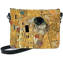 Les Trésors de Lily [Q6664 - Bolso de hombro hecho a mano Gustav Klimt