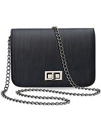 2624ab1e70499 Unbekannt Kleine Schultertasche steife Ausführung Damentasche mit Kette  Handtasche…