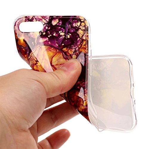 iPhone 6 cover,TXLING Glänzend Glitzer Crystal Case Hülle Klare Ultradünne Silikon Gel Schutzhülle Durchsichtig Kristall Transparent TPU Silikon Bumper Schutz Handy Hülle Case Tasche Etui für iPhone 6 Schwarz und gelb