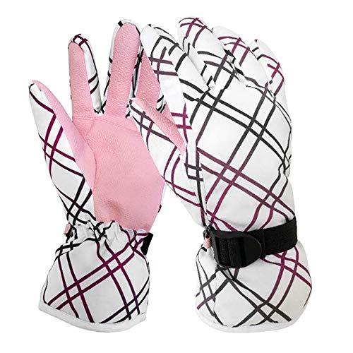 IAMZHL 1 paio di guanti da equitazione unisex per motociclisti invernali che guidano guanti caldi antiscivolo guanti antivento misura gratuita per escursioni in bicicletta b1