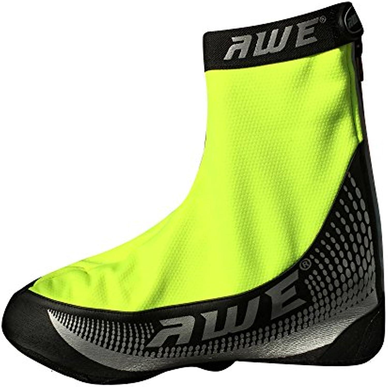 AWE® AWEBright™ 3M Scotchlite Sobre la cubierta del zapato PU / Windbreaker negro / neón  -