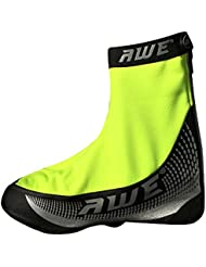 AWE® AWEBright™ 3M Scotchlite Sobre la cubierta del zapato PU / Windbreaker negro / neón