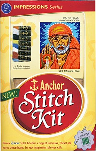 Anchor Stitch Kit Om Sai Ram