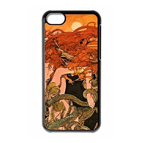 snake sexy girl iPhone 5C Case Black