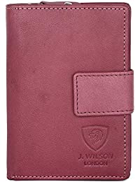 5ca35134ca5 Ladies Designer Luxury Quality Soft Nappa Leather RFID Safe Protection Purse  Multi Credit Card Women Clutch Wallet…